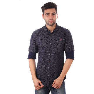Studio Nexx Mens Printed Casual Shirt