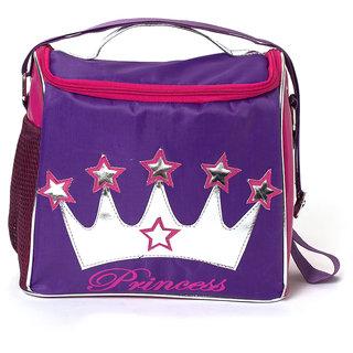 Lill Pumpkin Purple Crown Lunch Sling Bag