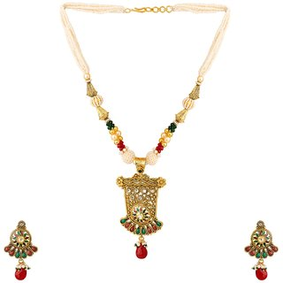 Jay Shreeya Creations Copper Jewel Set