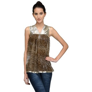 Tunic Nation Womens Animal Print Top