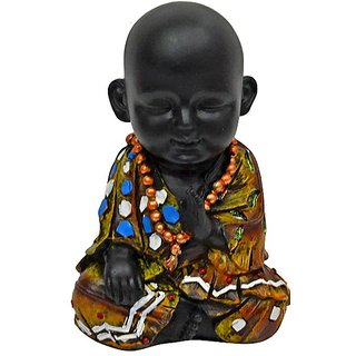 Jaycoknit Chinki Minkis Part II Cutie Monk Polyresin Showpiece-10