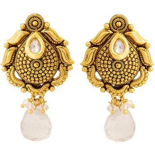 Jay Shreeya Creations Stunning Copper Dangle Earring