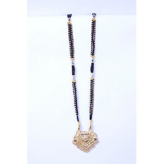Gold Colour U Adorable Stylish Mangalsutra For Women ShopClues code