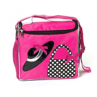 Lill Pumpkin Pink hat  Bag Lunch Sling Bag