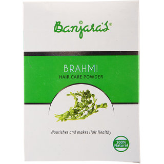 Banjaras Brahmi Hair Pack Powder 100G (5 Sachets Inside)