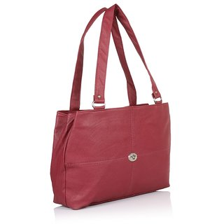 Tramp  Badger Women Stylish  Maroon Colourful Handbag