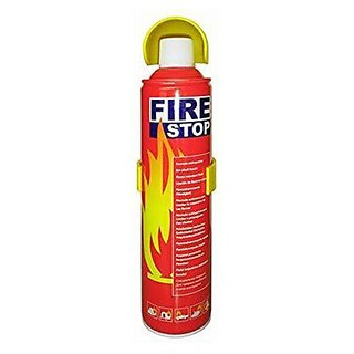 Fire Stop Car Fire Extinguisher with Stand (400-500 ml)