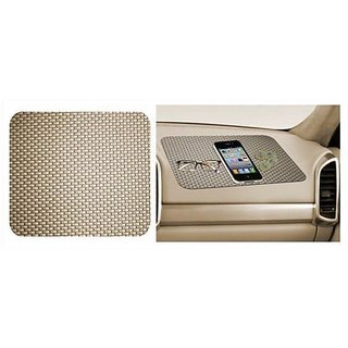 Car Dashboard Anti Slip Mat (Beige)