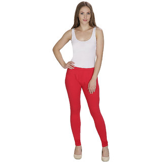 DAmour Ultra Comfort Suit Leggings-Cherry Red