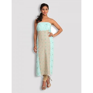 Sea Green Chikankari Cotton Palazzo Set