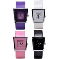TOREK TOREK COMBO OF 4 STYLISH ANALOG WATCH FOR GIRLS,WOMEN Analog Watch - For Girls, Women