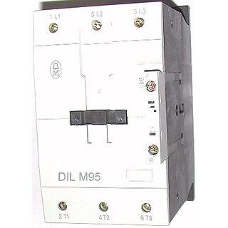 Eaton Moeller 95A AC Power Contactor , 3 Pole 220v/50Hz , 45 kW Eaton Part #- DILM95 , Article no. 239479