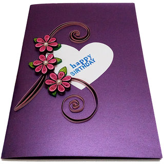 Handmade Birthday Greeting Card