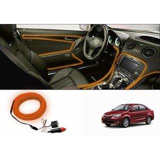 car interior ambient wire decorative led light orange toyota etios buy car interior ambient. Black Bedroom Furniture Sets. Home Design Ideas