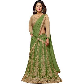 Ladies Flavour Designer Pista Banglori Lehenga Choli