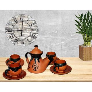Bengal Terracotta Designer Tea and coffee Set