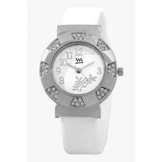 Watch Me White analog wrist watch for Women WMAL-120-W