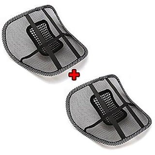 Right Traders Car Back Rest Cushion ( pack of 2 )