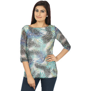Coash Multi printed women top