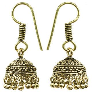 Waama Jewels White Diamond Dangle  Drop Earring for women and girl Festive Earring colored zircon