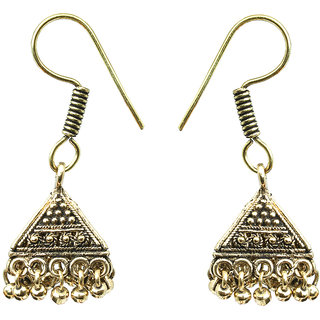 Waama Jewels gold NA Jhumki Earring For Women Daily Wear Earring Gift For Girlfriend
