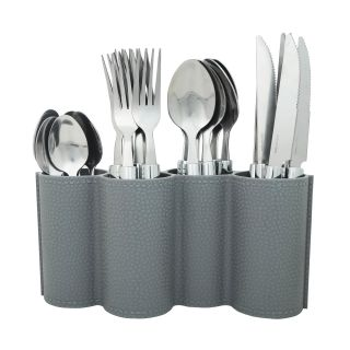 K.S 25-piece stainless steel cutlery set for dining table
