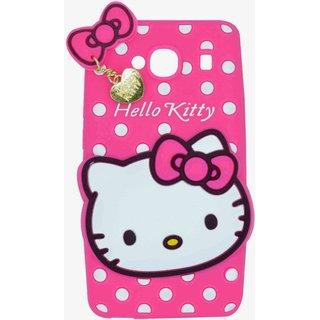 Style Imagine Hello Kitty Back Cover For Redmi 2 Redmi 2 Prime - Pink