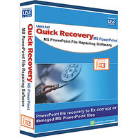 MicrosoftPowerpoint Data Recovey Software-Quick Recovery For Microsoft Power Point (Personal Lic.)1 U/1 Yr.