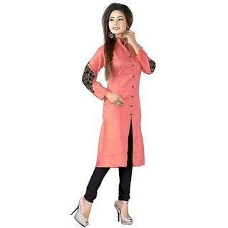 Wizua Enterprise Women Cotton Unstiched Paridhan Dress Material
