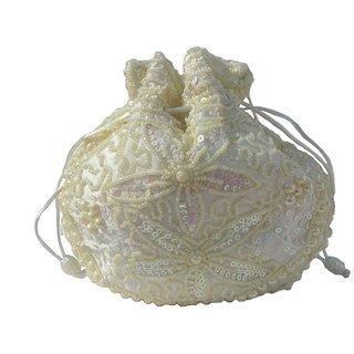 ALAR Handmade Potli Bag with Beadwork