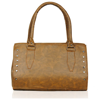 Katvon Womens Handbag BROWN YRS 0109A3