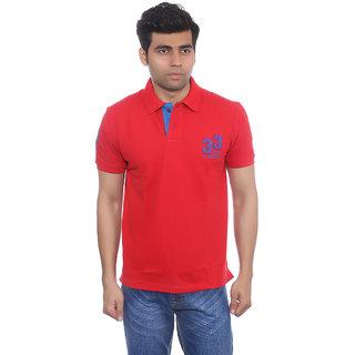 Studio Nexx Mens Red Polo T-Shirt