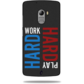 Cool Mango Printed Pudding TPU Back cover for Lenovo K4 Note - Flexible Protection Case for Lenovo Vibe K4 Note (Work Hard,Play Hard )