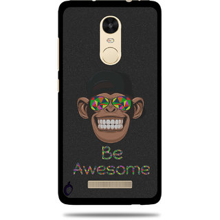 Cool Mango Printed Pudding TPU Back cover for  Redmi Note 3 - Flexible Protection Case for Redmi Note 3 (Be Awesome)