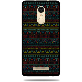 Cool Mango Printed Pudding TPU Back cover for  Redmi Note 3 - Flexible Protection Case for Redmi Note 3 (Mystic Aztec Pattern)