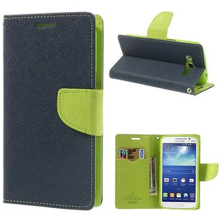 WALLET FLIP COVER(BLUE) FOR NOKIA 520
