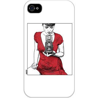 Dreambolic Apollonia-Saintclair Printed Back Cover For Iphone 4