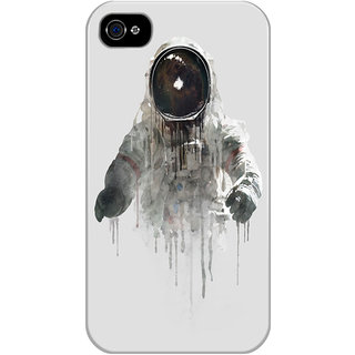 Dreambolic Astronaut-Ii Printed Back Cover For Iphone 4