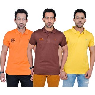 Fabnavitas Mens Slim Fit T-shirt Pack of 3