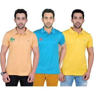 Fabnavitas Polo Neck T-shirt Pack of 3