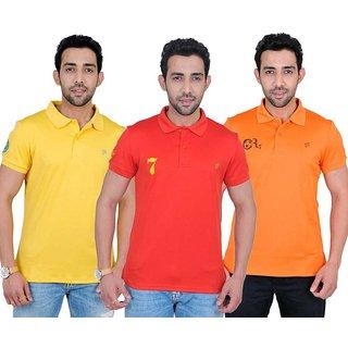 Fabnavitas Slim Fit Polo T-shirt Pack of 3