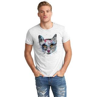 Dreambolic Cat Face Half Sleeve T-Shirt