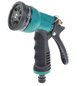 Car/Bike Green Washing Washable Water Spray Gun 8 Pattern Brass Nozzle