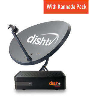 Dish TV HD+ Recorder- Kannada (1 Month Titanium Pack+full on HD)