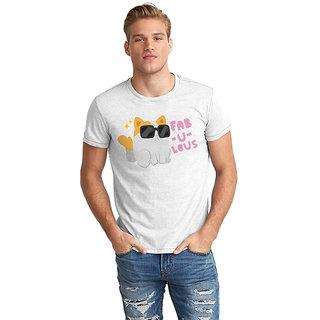 Dreambolic  Fabulous Cat Half Sleeve T-Shirt