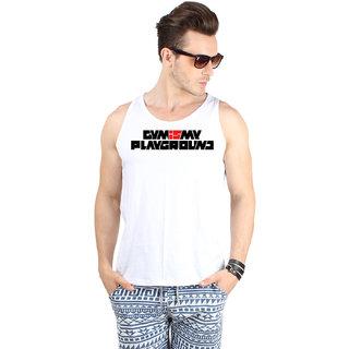 SayItLoud Mens Printed Vest