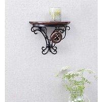 Desi Karigar Home Decor Premium Quality Shelf Rack Wall Bracket Wall Rack