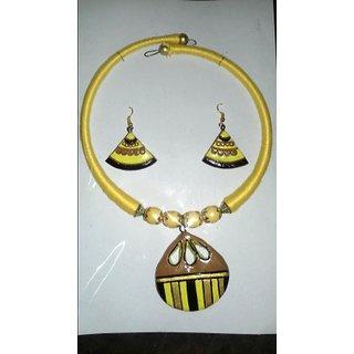 Milis terracotta jewellery.