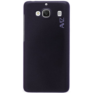 Aviz Hard Back Case Cover for Redmi 2A - Black