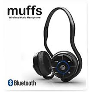 Portronics POR 149 Muffs Wireless Music Bluetooth Headset